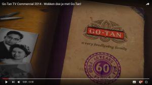 Video werkt voor Go-Tan